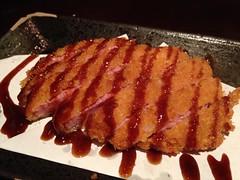 Deep Fried Ham Cutlet @Wakayama Tonkotsu Ramen (Phreddie) Tags: china food japanese soup yum shanghai eat ramen midnight noodle broth wakayama tonkotsu gubei