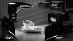 Setup shot for week 11 (Cjlws) Tags: bw white black macro up set grid nikon shot flash sb600 sigma setup speedlight reflector cls 105mm honl strobist su800 d700 sb700 cjlws