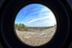 Arabia Mountain (Greg Foster Photography) Tags: sky usa mountain nature clouds ga georgia outdoors nikon fisheye round lithonia arabiamountain d7000