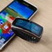 Samsung Galaxy S5 with Gear Fit smartwatch
