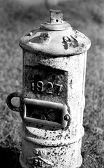 1927 Fort Payne Alabama (lawdlc) Tags: 35mmfilm 1927 fortpayne nikonf5 oldfactory myphotography fortpaynealabama kodakd76developer