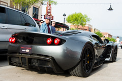 Hennessy Venom (RazaKazimi) Tags: park cars vintage john texas houston f1 ferrari enzo gto gt bugatti cofee supercars veyron saleen f40 venom s7 f50 veyeron