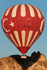 Ballooning in Cappadocia (C McCann) Tags: morning hot june sunrise turkey dawn flying air turkiye balloon images aerial ballooning cappadocia daybreak greme kapadokya nevehir 2013 tcbua