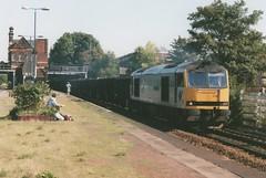 "Trainload Metals Class 60, 60034 ""Carnedd Llewelyn"" (37190 ""Dalzell"") Tags: doughnut tug metals waterorton carneddllewelyn class60 60034 triplegrey trainloadfreight"