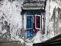 Window in Macau (ashabot) Tags: china windows asia walls macau streetscenes