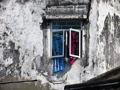 Window in Macau (ashabot) Tags: china windows asia walls macau streetscenes