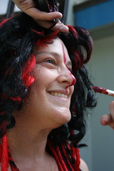 IMG_3261 (SeaChiqui) Tags: art beauty nude freedom model artistic joy fremont bodypaint parade solstice nakedbikers nud 2013 nudebikers fremontsolsticeparade2013 fremontnakedride