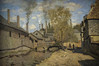 Factories At Deville Near Rouen by Claude Monet, 1872 (Greatest Paka Photography) Tags: paris france art museum painting artist industrial factory exhibition rouen painter museedorsay claudemonet oiloncanvas frenchimpressionism therobecstreamrouen