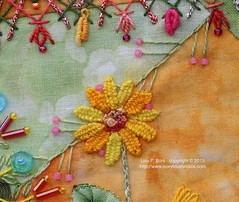 2015.07.09CQJP2015LPBoniMay06 (ivoryblushroses) Tags: beads embroidery may cq embellishment stitching block crazyquilting cqjp2015