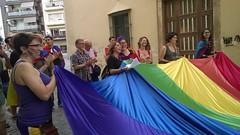 Mani de l'Alliberament LGBT+ a Blanes