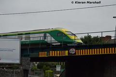 4006 departs Portlaoise, 1/8/15 (hurricanemk1c) Tags: irish train rail railway trains railways caf irishrail intercity portlaoise 2015 mark4 iarnród 4006 éireann iarnródéireann 1900heustoncork
