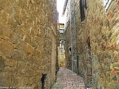 Montichiello, Il Borgo, The Ancient village (michele masiero) Tags: italia siena toscana valdorcia vicolo borgo montichiello fotosketcher ilborgodimontichiello