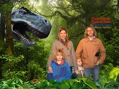 Dinos Unearthed with the Nash family! (grilljam) Tags: dinosaursunearthed exhibit portland sciencecenter grilljam seamus 4yrs ewan 7yrs cheesy iloveseamussnonconformistattitude