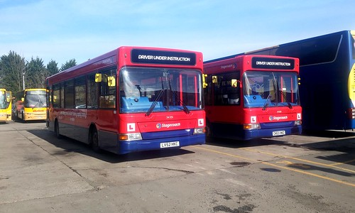 Stagecoach 34351 LV52HKC - Stagecoach 34500 CN53HWZ