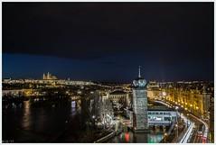 nocturnal ray of hope (i.v.a.n.k.a) Tags: ivanadorn ivanahesova sonyalpha night illumination lights city cityscape nocturnal metaphor czechrepublic prague longexposure