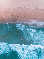 Cronulla Beach (alexkess) Tags: water sea ocean noperson landscape underwater splash ice pastel travel beach cronulla sydney australia drone aerial phantom4 dji newsouthwales au