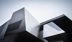 Star Destroyer [Explored] (Robert Blauton) Tags: architecture architectural fineart abstract futuristic modern building design detail facade filter sky reflection urban city colors munich