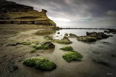 Cuevas de Cocedores (*Alphotos) Tags: alphotos playa cocedores virgen algas mar rocas pulpí aguilas