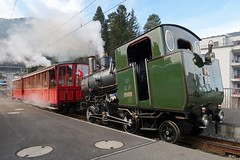 Rigi Bahnen - Historic Steam Train