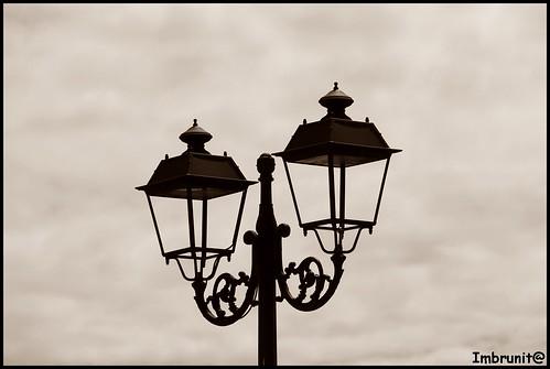 lampione trasparente