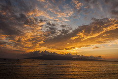Sunset Over Lanai (john.lankau) Tags: maui lahaina sunset