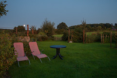 (Vermeero) Tags: aftersunset moon garden twilight relaxed zuidlimburg canoneos30d efs1022mmf3545usm