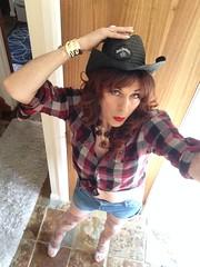 Hoe Down? (Sophie D girl) Tags: trans tranny tv tranvestite tgirl crossdress crossdresser crossdressing sissy tights heels transgender