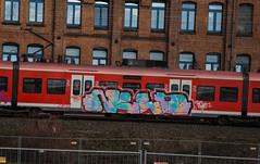 _DSC7715 (Under Color) Tags: hannover graffiti train steel db strain sbahn hauptbahnhof hbf mainstation streetart art subwayart kunst vandals