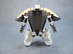 Rear view (Messymaru) Tags: original infantry robot lego grunt mecha mech moc