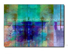 Rhapsody in Blue abstract art copyright Ann Powell (annpowellart) Tags: abstract texture mixedmedia abstractart contemporary modernart fineart digitalart large wallart trendy abstracts homedecor nonobjective corporateart walldecor abstractdesign giclee officedecor abstractcollage oklahomaartist modernwallart annpowell oklahomaartists annpowellart largeabstractwallart