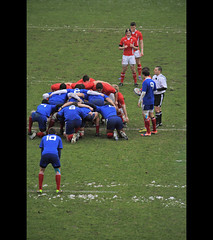 mle internationale (Steph Blin) Tags: game france wales rugby match u20 scrum 6nations bleus mle diablesrouges