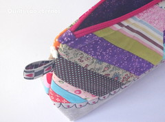 In luv with linen (helenaguerravicente) Tags: linen pouch patchwork necessaire linho