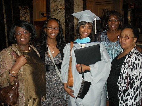 Me and the Fam at Graduation
