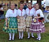 Hungarian folk costumes in the Cra…