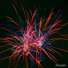 Fireworks D (BillTiepelman) Tags: light sky abstract lines night fireworks geometry flash fineart trails sparkle fourthofjuly july4 bang independenceday explode