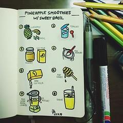 วาดรูประบายสีด้วยฝีมือแบบเด็กประถม ใช้ดินสอสีที่ใช้ตั้งแต่มอต้นจนกล่องบุบเละ สนุกแบบเด็กๆ (based on khun sumapa d.'s recipe on snapguide)