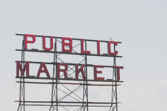 pike place (coffeeinthepines) Tags: seattle fish fruit washington place market vegetable fresh meat pike