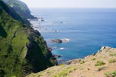 礼文島 愛とロマンの逆8時間コース (GenJapan1986) Tags: travel sea japan landscape island hokkaido 北海道 日本 旅行 海 風景 礼文島 離島 2013 rebunisland 礼文町 ricohgxr 愛とロマンの逆8時間コース