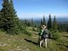 Moose Mountain Hike - 8 Ben views north (benlarhome) Tags: mountain canada mountains nature montagne trekking trek kananaskis rockies hiking hike trail alberta rockymountain hiker gebirge brokeback moosemountain