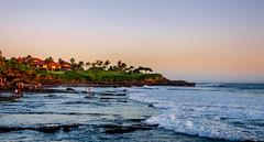 Tana lot Bali (bigbuzz_2k) Tags: sunset sea bali seascape water landscape evening singapore 18105 tanalot d7000