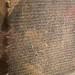 Rosetta stone close-up