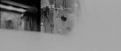 (alienmeatsack) Tags: blackandwhite iso100 kodak objects multipleexposure yashicasamurai 13 doubles dektol aristaeduultra 3minutes