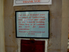 DSCF2541 (Cathedrals and Churches of Great Britain) Tags: uk england tom kent christianity floyd janeausten tpf parishchurch godmersham tomfloyd godersham lightfocusshoot medievalparishchurch medievalenglishchurch