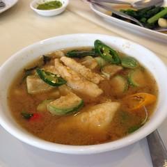 แกงป่าปลาเห็ดโคน | Fillet Sillago In Spicy Curry Soup @ แหลมเจริญ ซีฟู้ด | Laem Cha-Roen Seafood