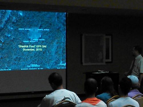 "Shadrick Pond GPR Grid November 2010 • <a style=""font-size:0.8em;"" href=""http://www.flickr.com/photos/85839940@N03/10671378536/"" target=""_blank"">View on Flickr</a>"