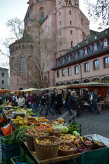 Market (mag3737) Tags: cathedral farmers market dom mainz