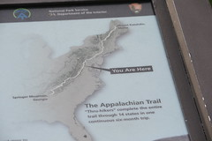 You Are Here! (eyriel) Tags: sign graphic humor appalachiantrail at