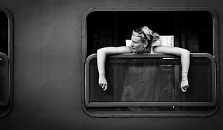 Woman on the train 2