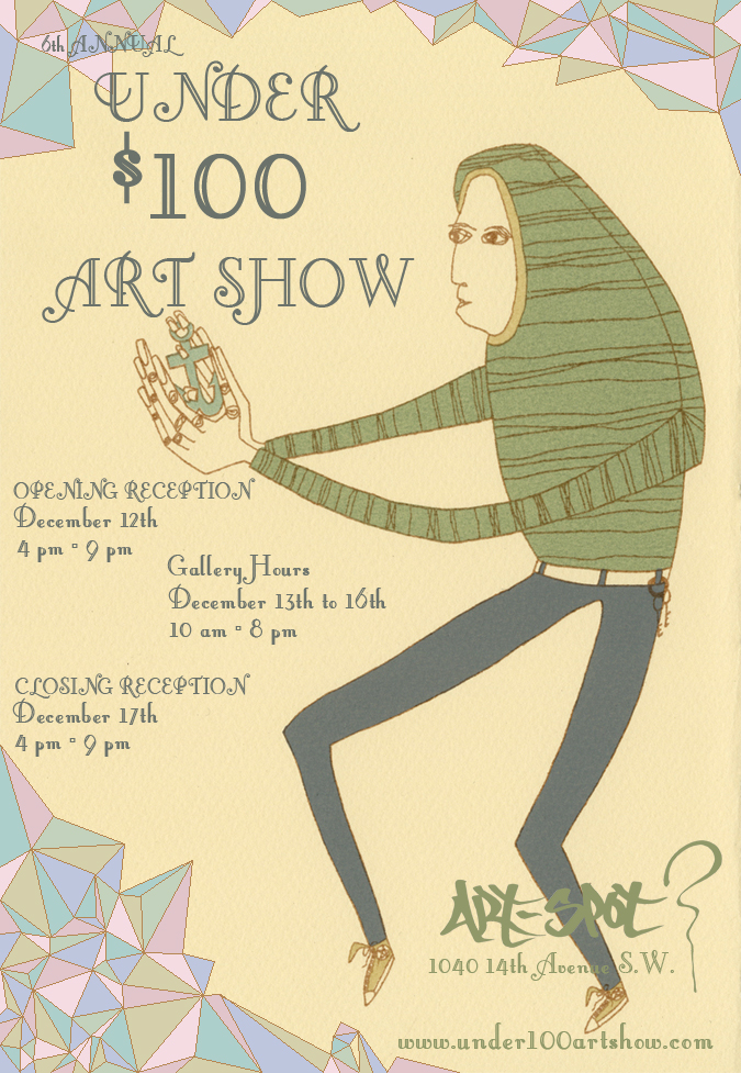 6th Annual Under $100 Art Show