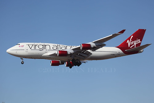 "Virgin Atlantic Airways ""Tinker Bell"" 
